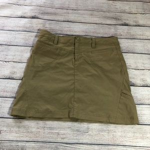 Athleta Dark Tan Skort Size 6